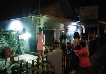 Pertunjukan Teater Monolog - Yang Sejati telah Kehilangan Dirinya - Nurul Cupay Haqiqi - di malam pembukaan Pameran Bakureh Project - 01