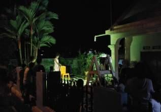 Pertunjukan Teater Monolog - Yang Sejati telah Kehilangan Dirinya - Nurul Cupay Haqiqi - di malam pembukaan Pameran Bakureh Project - 03