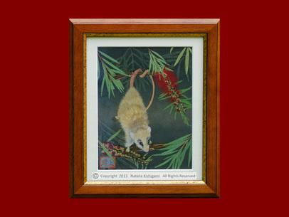 """""""Moonwalker"""" karya Natalia Kishigami. Arsip: artfloreo.com"""