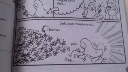"Soka menanam ""kecambah"". (hml. 19) Arsip: Ade/Sayurakita"