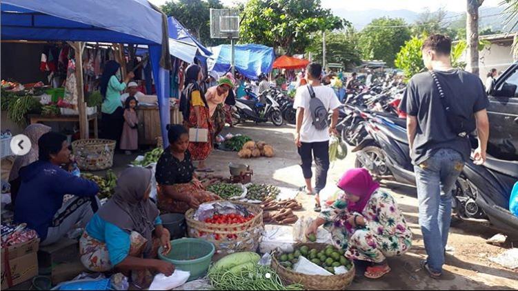 Suasana Pasar Pemenang pada Februari 2019. Arsip: Albert/Gubuakkopi